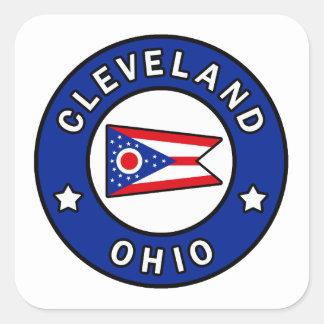 Cleveland Ohio Square Sticker