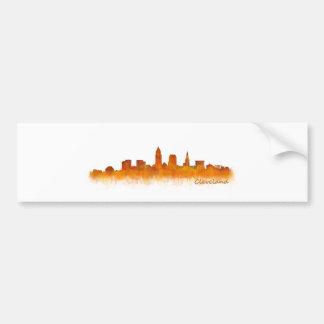 Cleveland Ohio the USA Skyline City v02 Bumper Sticker