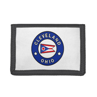 Cleveland Ohio Trifold Wallet
