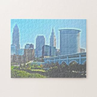 Cleveland, Ohio West River Bank Puzzle