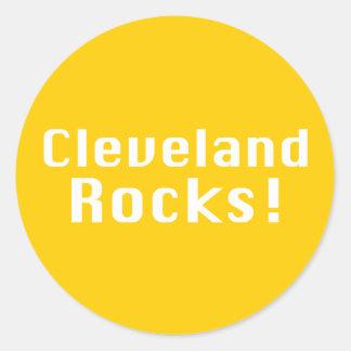 Cleveland oscila los regalos pegatina redonda