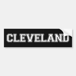 Cleveland Pegatina Para Auto