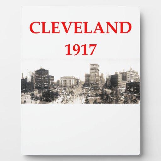 Cleveland Placas De Madera