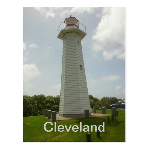 Cleveland Point Lighthouse Postcard