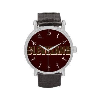 Cleveland Relojes De Pulsera