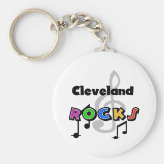 Cleveland Rocks Keychain