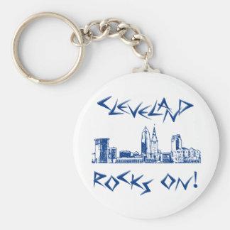 Cleveland Rocks! Keychain