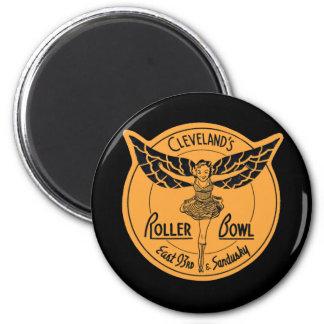 Cleveland Roller Bowl Fridge Magnets