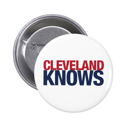Cleveland sabe pin redondo 5 cm