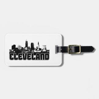 Cleveland Skyline Bag Tag