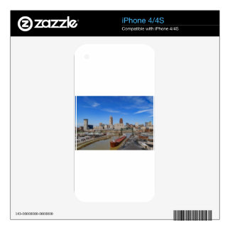 Cleveland Skyline iPhone 4S Decal