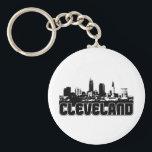 "Cleveland Skyline Keychain<br><div class=""desc"">Cleveland Skyline</div>"