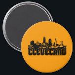 "Cleveland Skyline Magnet<br><div class=""desc"">Cleveland Skyline</div>"