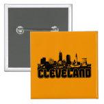 Cleveland Skyline Pins