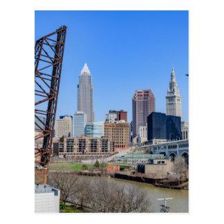 Cleveland Skyline Postcard
