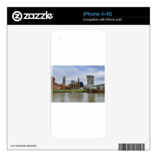 Cleveland Skyline Skin For iPhone 4