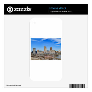 Cleveland Skyline Skins For The iPhone 4