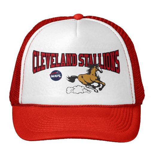 CLEVELAND STALLIONS CAP TRUCKER HAT