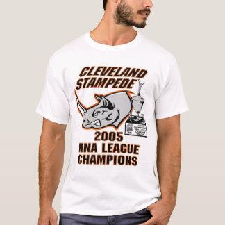 Cleveland Stampede 2005 HNA League Champs Shirt