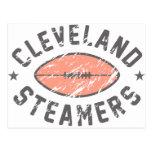 Cleveland Steamers Fantasy Football Postcards
