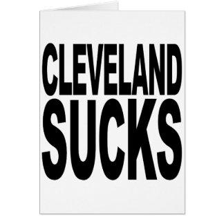 Cleveland Sucks Card