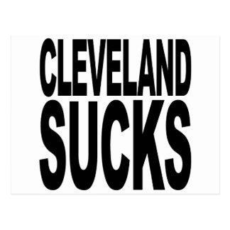 Cleveland Sucks Postcard