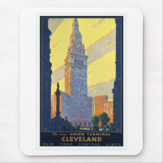 Cleveland The New Union Terminal Vintage Mouse Pad