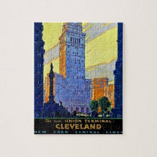 Cleveland Union Terminal Jigsaw Puzzle