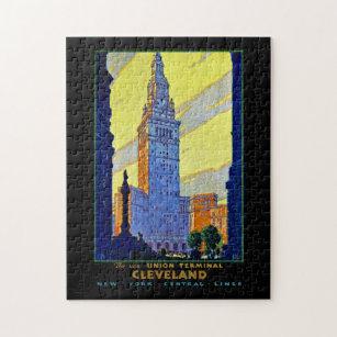 Cleveland ~ Union Terminal Jigsaw Puzzle