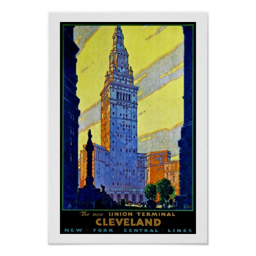 Cleveland ~ Union Terminal Poster