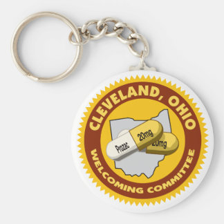 Cleveland Welcome Keychain