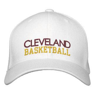 CLEVELAND White Basketball Cap