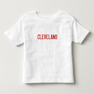 CLEVELAND WILD THING #99 TODDLER T-SHIRT