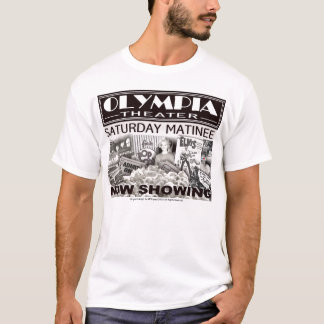 Cleveland's  own Olympia Theater Collage Tee Shirt
