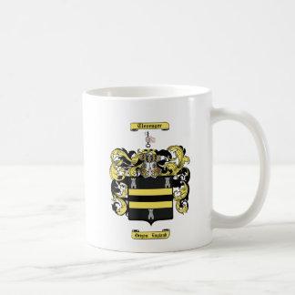 Clevenger Classic White Coffee Mug