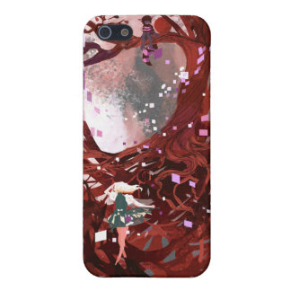 Clever Cat Alice in Wonderland iPhone SE/5/5s Cover