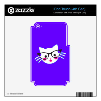 Clever CAT Skins For iPod Touch 4G
