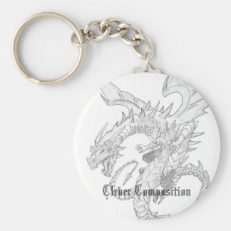 Clever Composition Dragon Key Chain