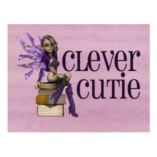 Clever Cutie Postcard