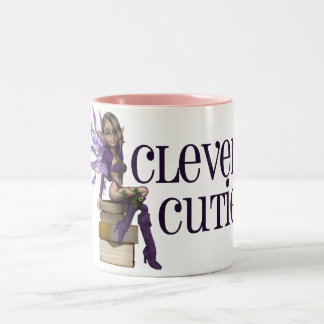 Clever Cutie Two-Tone Coffee Mug