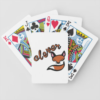 Clever Fox Bicycle Playing Cards