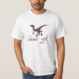 Clever Girl Dinosaur Velociraptor T Shirts