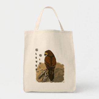 Clever Girl - Two Raptors Tote Bag