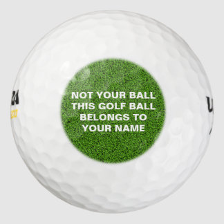 Clever Identity Golf Ball