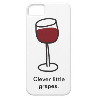 Clever little grapes. iPhone SE/5/5s case