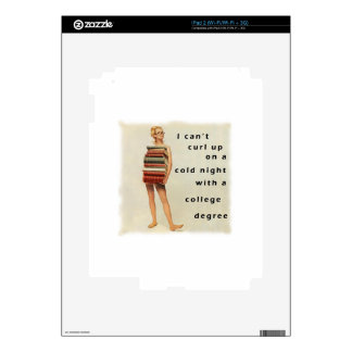 Clever sexist design decals for the iPad 2