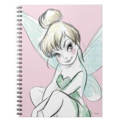 Clever Tinker Bell Notebook