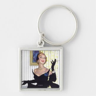 Clever Women Are Dangerous Too Keychain