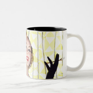 Clever Women Are Dangerous Too Two-Tone Coffee Mug