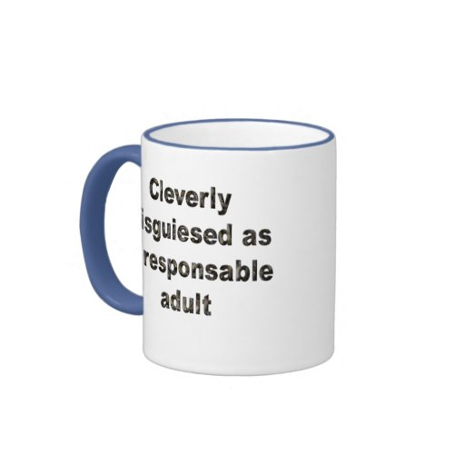 Cleverly disguiesed ringer coffee mug